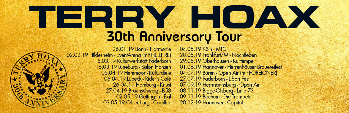 Terry Hoax - 30th Anniversary Tour